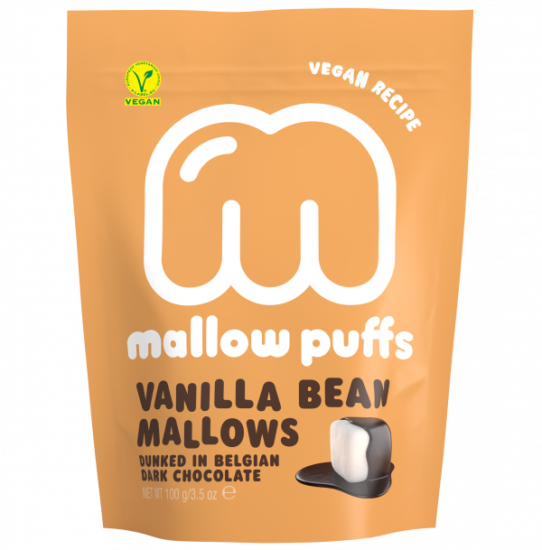Mallow Puffs Vanilla Bean mallows vegan 100gr
