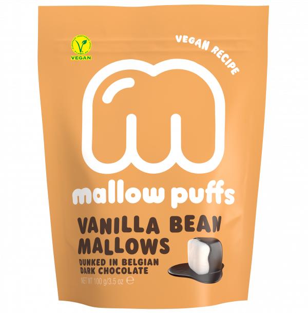 Mallow Puffs Vanilla Bean mallows vegan 100gr
