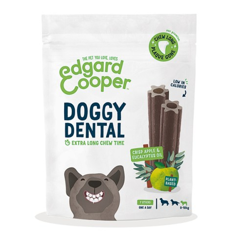 edgard cooper doggy dental appel en eucalyptus small