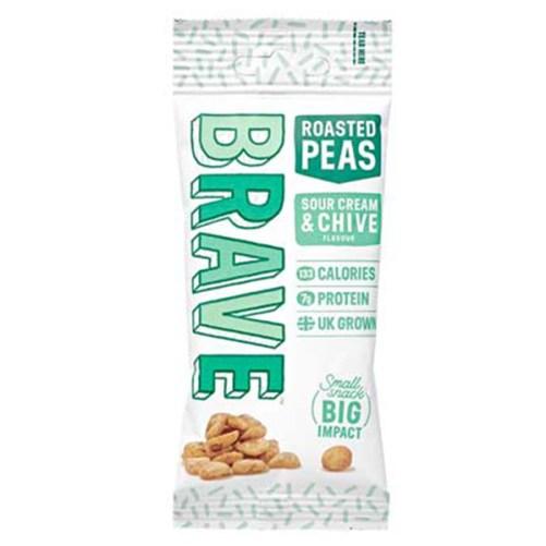 Brave Sour Cream Chive vegan snack