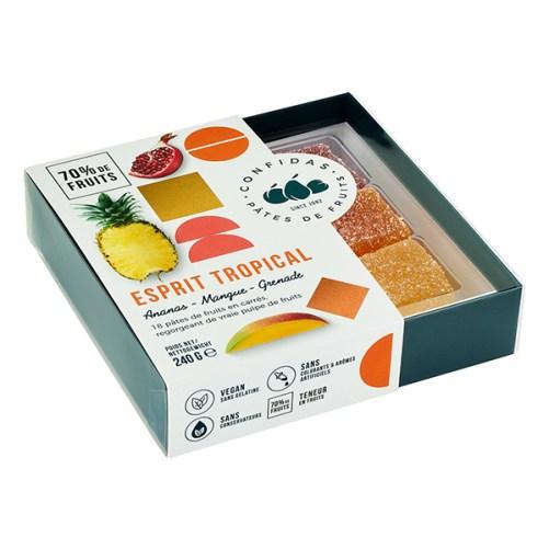 Confidas Esprit Tropical Pâtes de Fruits