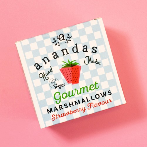 ananda foods strawberry marshmallows