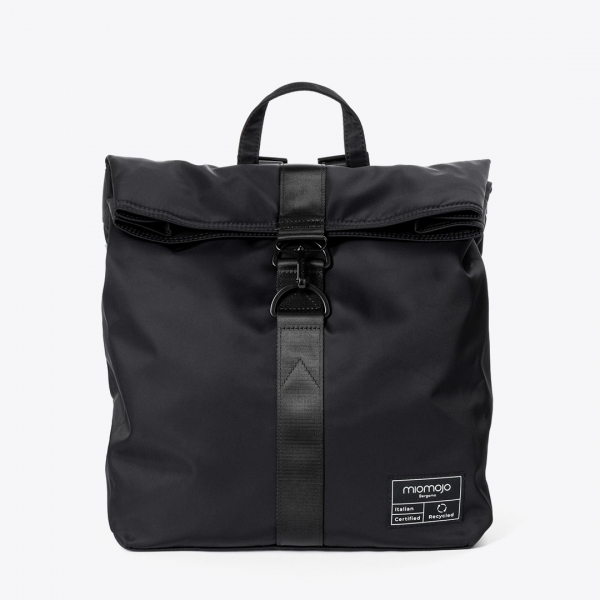 miomojo penelope backpack nero vegan rugzak