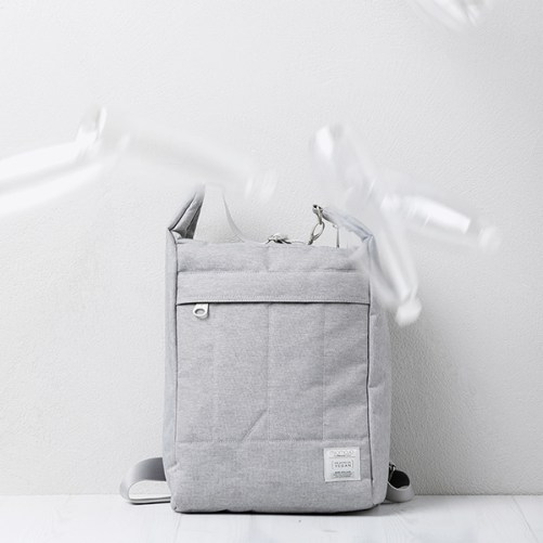 miomojo urban backpack grigio vegan rugzak