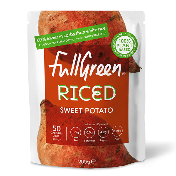 Fullgreen Riced Sweet Potato vegan 200gr