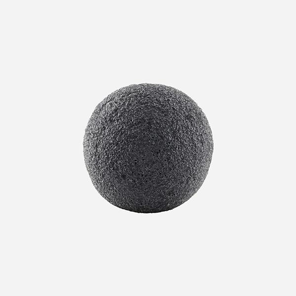 meraki konjac sponge charcoal vegan konjac spons