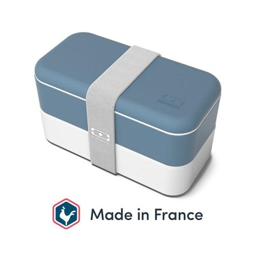 monbento mb original blue denim bento box
