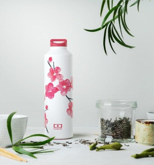 monbento insulated bottle blossom