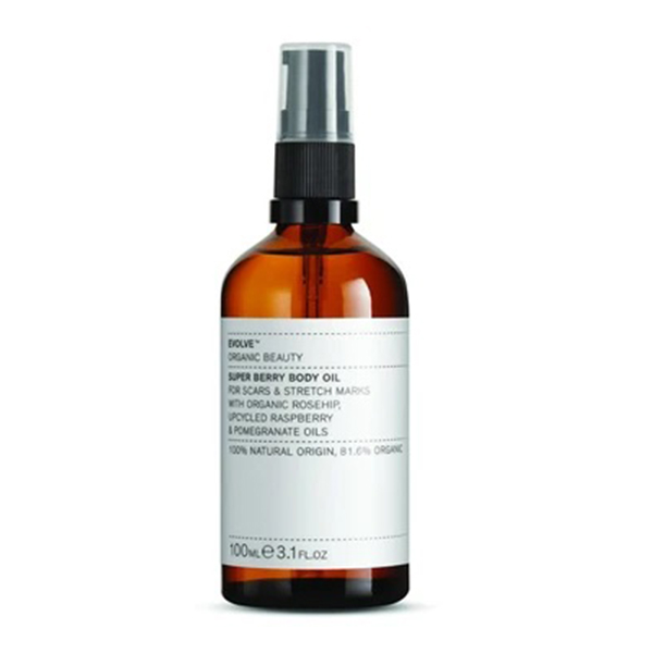 Super Berry Body Oil Evolve Beauty vegan lichaamsolie 100ml