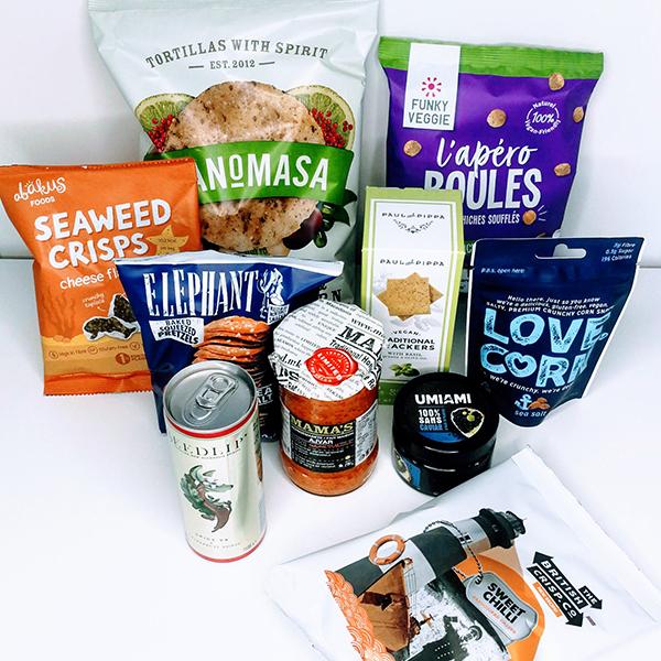 vegan gift box aperitief