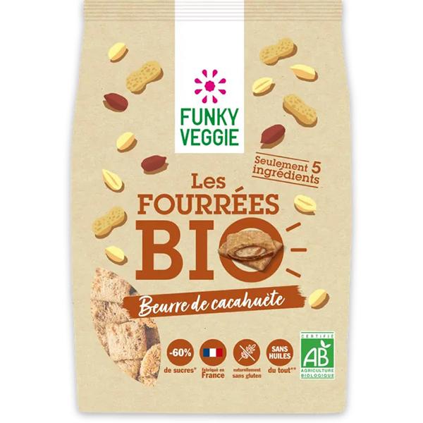 vegan ontbijtgranen Funky Veggie Les Fourrées beurre de ccahuète 250gr
