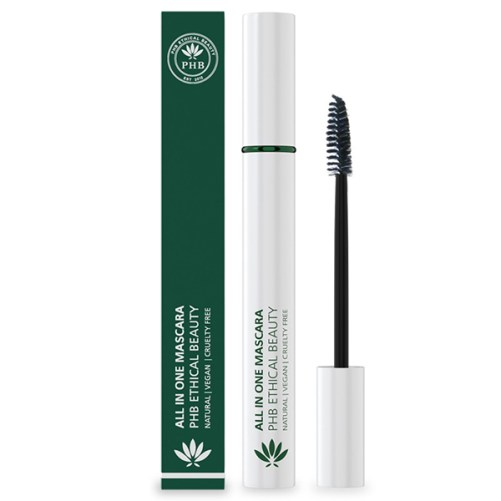 vegan waterproof mascara all in One PHB Ethical Beauty