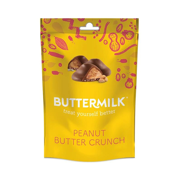 buttermilk peanut butter crunch vegan lactosevrije chocolade 100gr