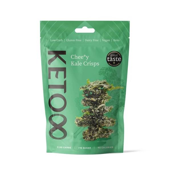 vegan boerenkoolchips CRU8 vegan cheezy kale crisps 30gr