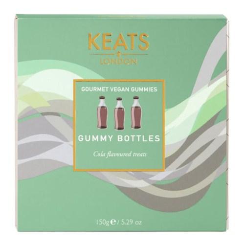 vegan cola flesjes Keats London 150gr
