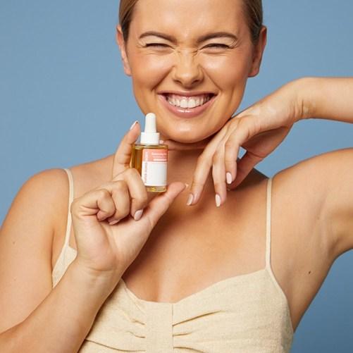 Super Duper Body Balancing Bliss Facial Oil vegan beauty
