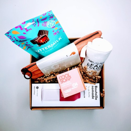 zero waste gift box vegan gift box by tAK