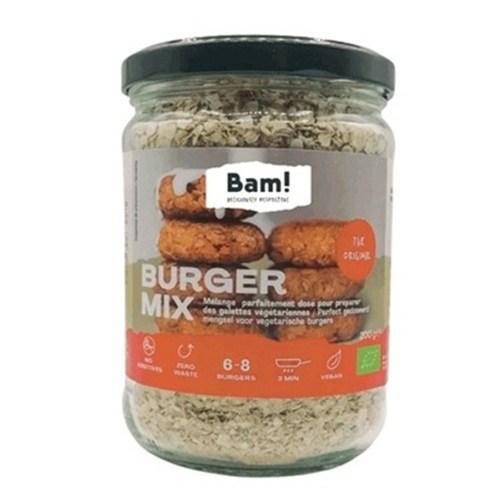 Bam Burger Mix vegan mix voor huisgemaakte burgers