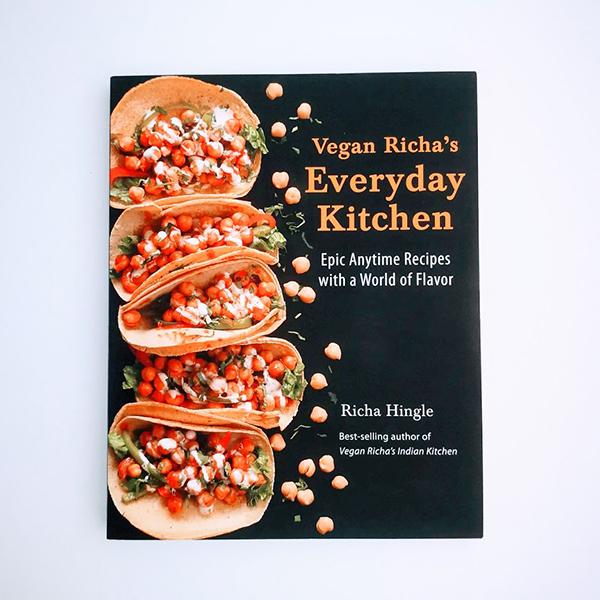 Richa HIngle Vegan Richa's Everyday Kitchen vegan kookboek