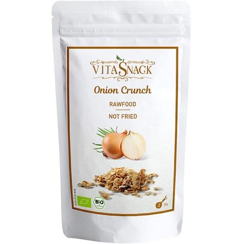 vitasnack onion crunch vegan raw food 28gr