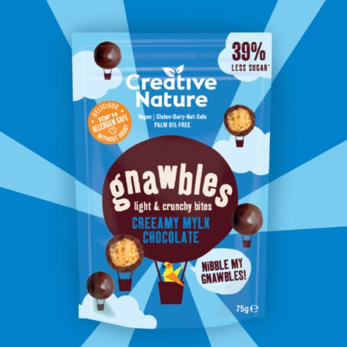 Gnawbles Creeamy Mylk Chocolate