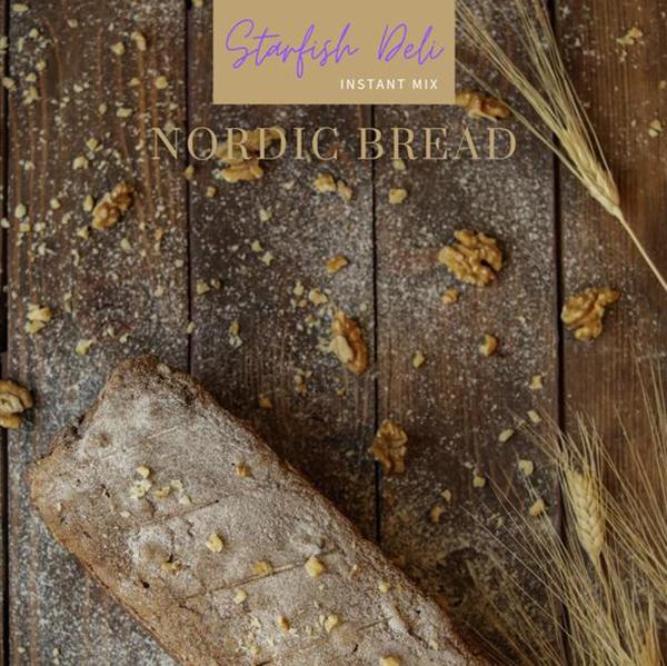 starfish deli nordic bread vegan bakmix