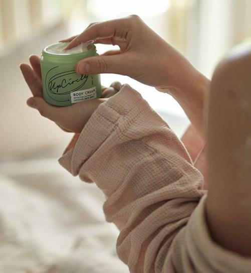 UpCircle Beauty Body Cream with Dates Seeds vegan bodycream