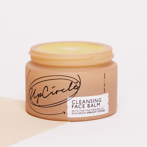 upcircle cleansing face balm with apricot powder vegan gezichtsreiniger