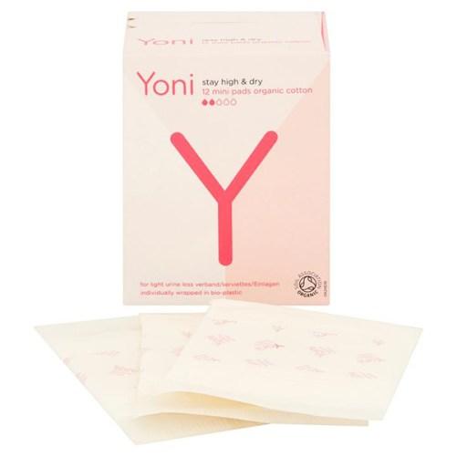 yoni inlegkruisjes voor urineverlies mini bio afbreekbaar