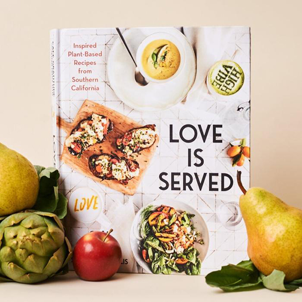 Love Is Served Café Gratitude vegan kookboek