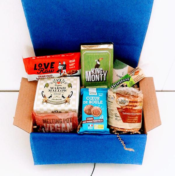 vegan gift box goodies vegan cadeau