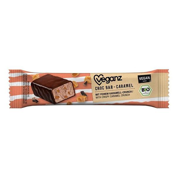 veganz choc bar caramel vegan 40gr