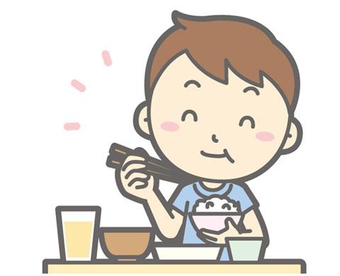 食事をしている人