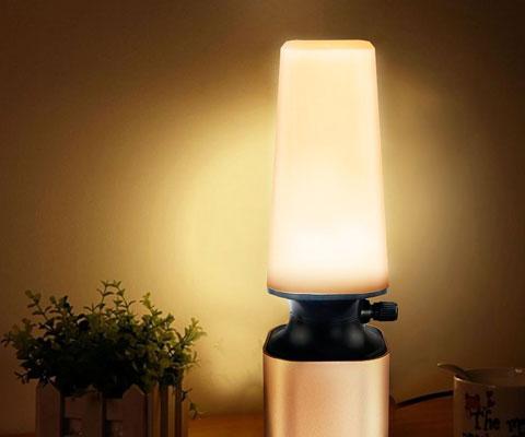 暖色系の照明