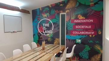 The Island Cayenne -Meuble en palette - Guyane