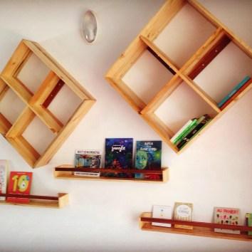 Etagères en bois de palettes - TAKARI DESIGN