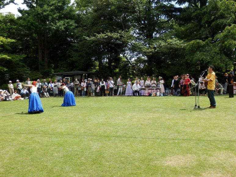 旧古河庭園春のバラフェスティバル