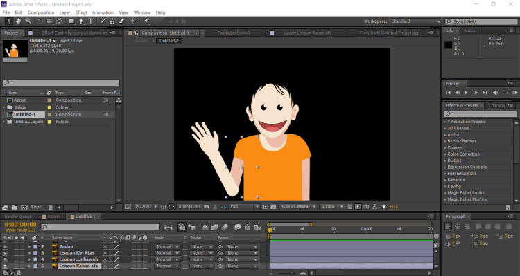 komposisi after effects 3