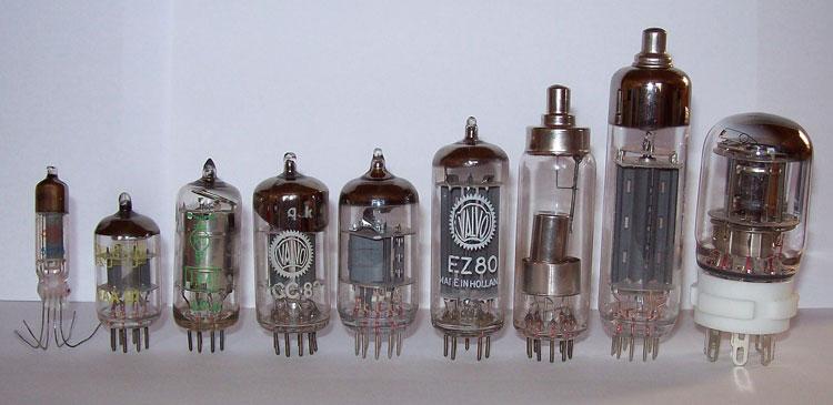sejarah komputer - macam-macam vacuum tube