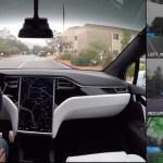 【記事】テスラ、完全自動運転車の「目線」を紹介するビデオを公開