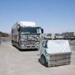 【記事】大型トラックADAS機能を体験、AMT、緊急ブレーキ、前車追従など…三菱ふそう スーパーグレート 新型