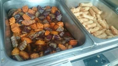 glazed sweet potato | mini turon
