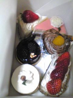 40歳おめでとうケーキまあこんなもん