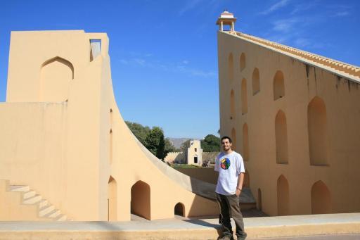 Jantar Mantar in Jaipur (observatory)
