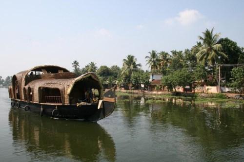 Kettuvalam = Houseboat from Kerala