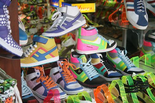 Fluo flash sneakers