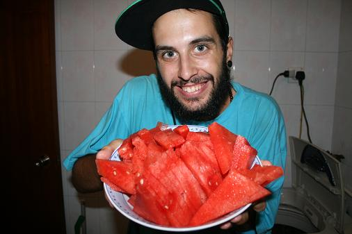 Who want watermelon ?