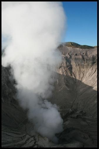 Smoking hole