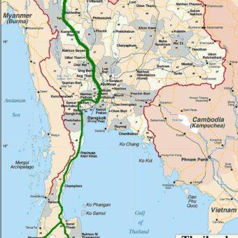 itinéraire thailande