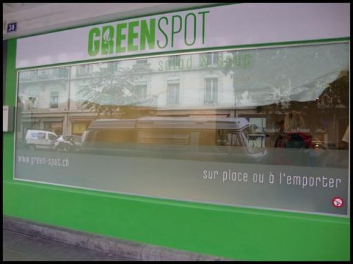 Entree rue Carl Vogt GreenSpot